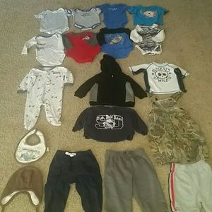 18 piece 6 month baby bundle